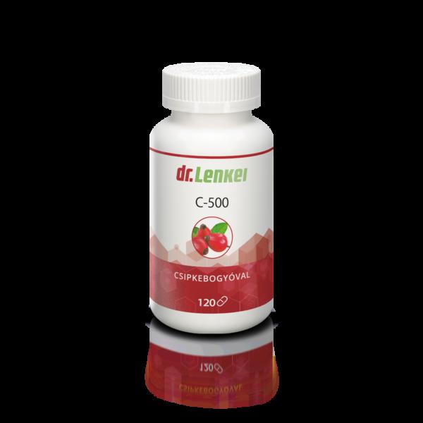 C vitamin csipkebogyóval 120 db